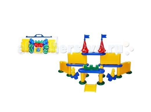 Конструкторы СВСД Форт (28 элементов) форт ромашки 900x600 серый