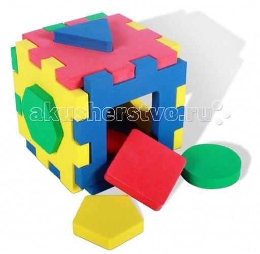 Развивающие игрушки Бомик Кубик-геометрия сортеры бомик кубик мозаика силуэты