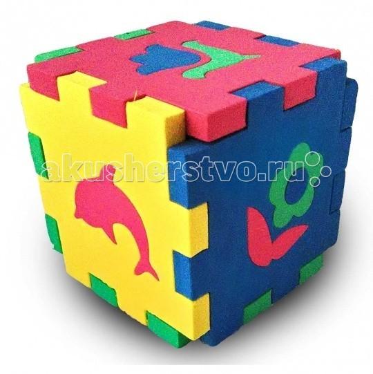 Развивающие игрушки Бомик Кубик Мозаика Силуэты пазлы бомик мозаика локомотив