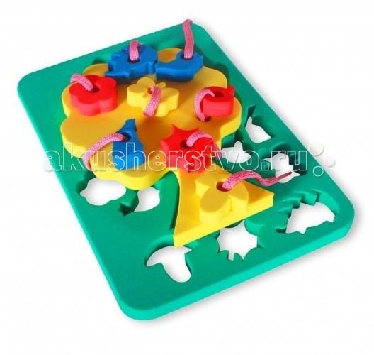 Развивающие игрушки Бомик Шнуровка Дерево