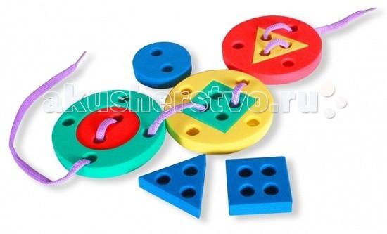 Развивающие игрушки Бомик Шнуровка Пуговица игрушка бомик шнуровка пуговица 602