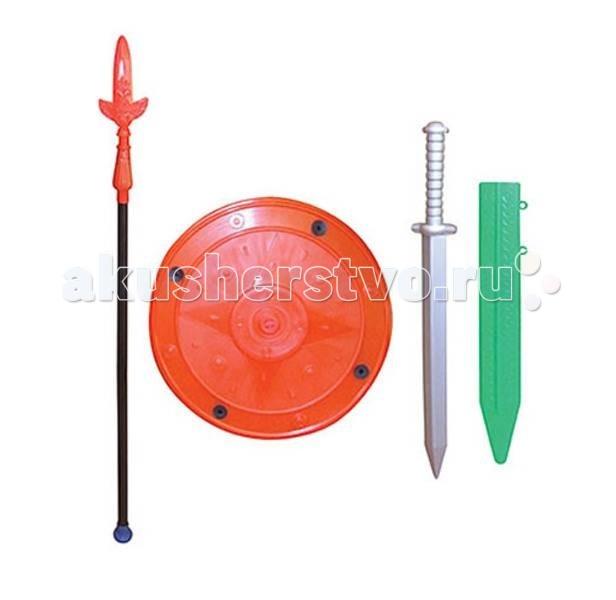 Игрушечное оружие СВСД Набор Гладиатор набор крем kora набор spa лифтинг уход набор