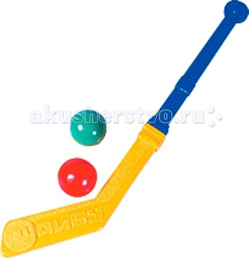 Игрушки для зимы СВСД Клюшка с двумя шарами