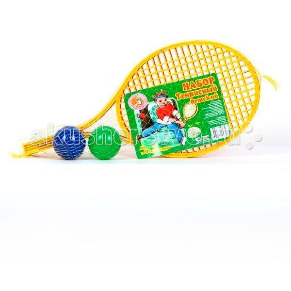 Спортивный инвентарь СВСД Детский теннисный набор (4 предмета) теннисный инвентарь babolat tonic string