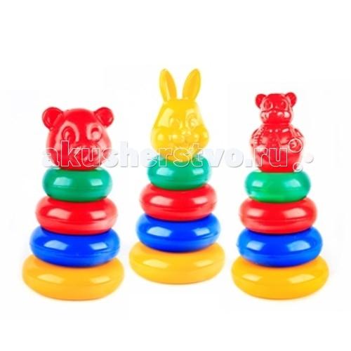 развивающие игрушки свсд пирамидка большая мультик Развивающие игрушки СВСД Пирамидка маленькая Мультик