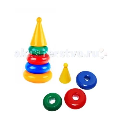развивающие игрушки свсд пирамидка большая Развивающие игрушки СВСД Пирамидка маленькая Конус