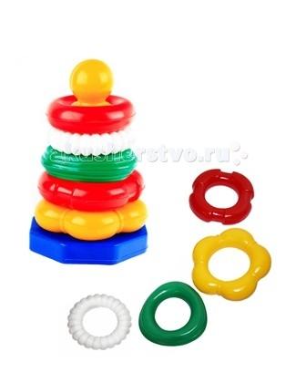 Развивающие игрушки СВСД Пирамидка Ассорти statue of liberty pattern protective pu flip open case w strap card slots for samsung galaxy s5