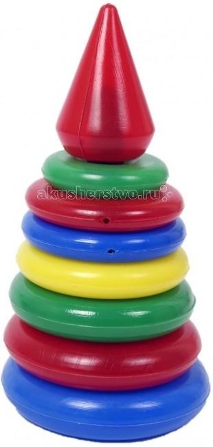 развивающие игрушки свсд пирамидка большая Развивающие игрушки СВСД Пирамидка Рубин