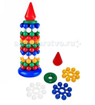 Развивающие игрушки СВСД Пирамидка Маяк развивающие игрушки свсд пирамидка лисичка