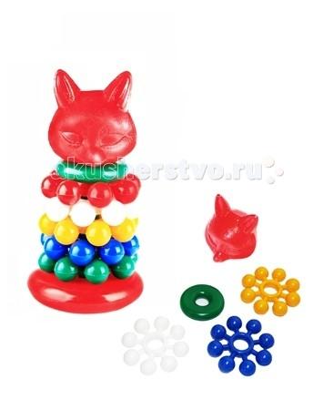 Развивающие игрушки СВСД Пирамидка Лиса Алиса развивающие игрушки spiegelburg пирамидка baby gluck