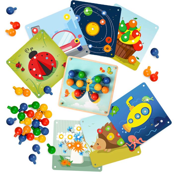 Деревянная игрушка Raduga Kids мозаика Цвета