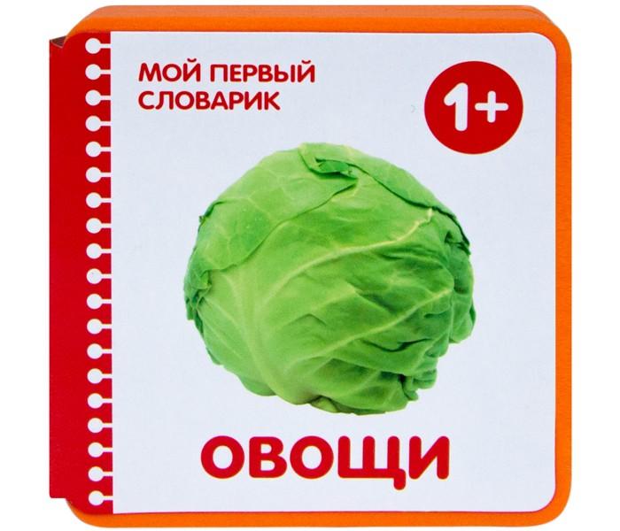 Книжки-игрушки Мозаика-Синтез Мой первый словарик Овощи развивающие книжки мозаика синтез мой первый словарик овощи