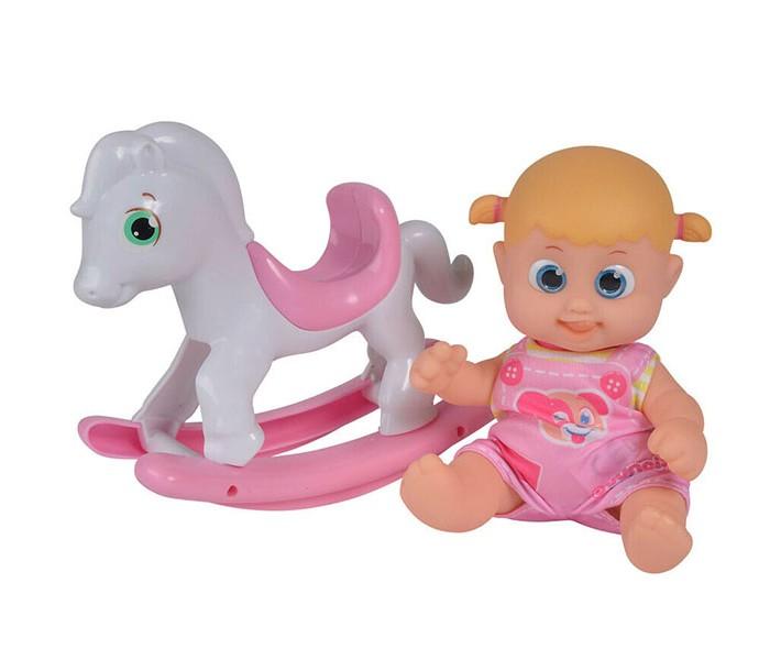 Bouncin Babies Кукла Бони с лошадкой-качалкой 16 см