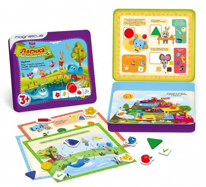 Игры для малышей Magneticus Обучающий набор Логика POL-013
