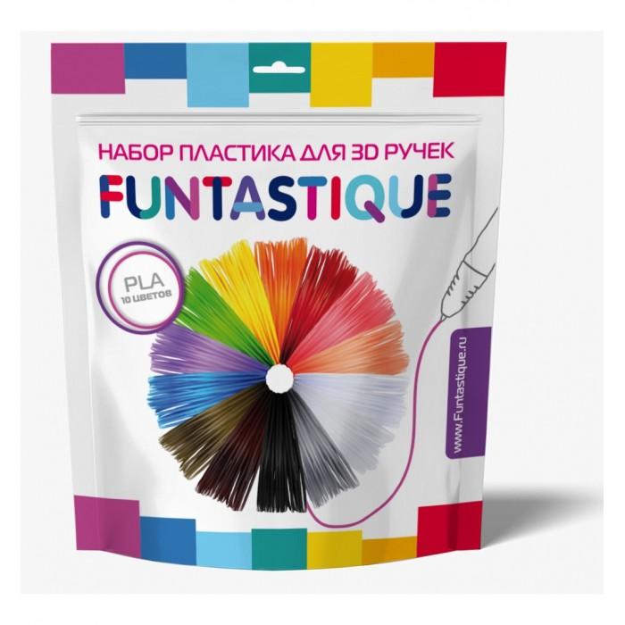 Купить Наборы для творчества, Funtastique Комплект ПЛА-пластика для 3D-ручек 10 цветов