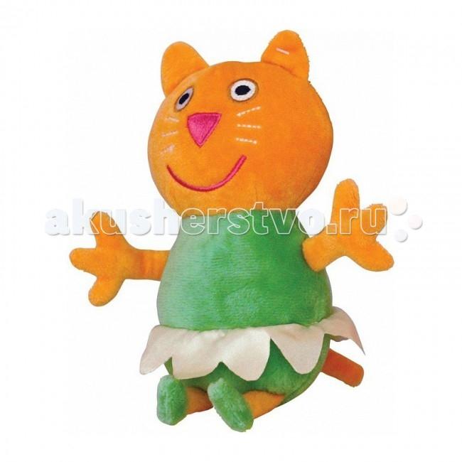 Мягкие игрушки Свинка Пеппа (Peppa Pig) Котенок Кэнди балерина 20 см мягкие игрушки peppa pig мягкая игрушка пеппа модница 20 см