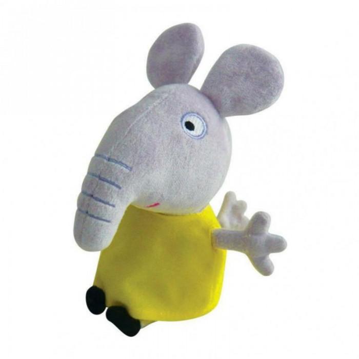 Мягкие игрушки Свинка Пеппа (Peppa Pig) Слоник Эмили 20 см мягкая игрушка peppa pig джордж с машинкой свинка розовый текстиль 18 см 29620