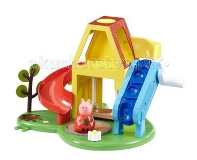 Купить Игровые наборы, Свинка Пеппа (Peppa Pig) Игровой набор Площадка Пеппы-неваляшки