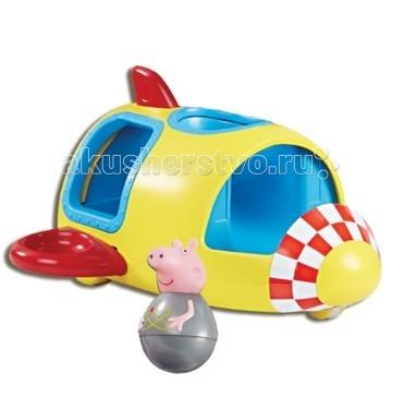 Игровые наборы Свинка Пеппа (Peppa Pig) Игровой набор Ракета Пеппы-неваляшки игровой набор peppa pig семья пеппы папа свин и джорж 2 предмета от 3 лет 20837