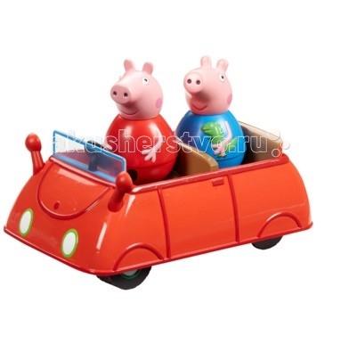 Игровые наборы Свинка Пеппа (Peppa Pig) Игровой набор Машина Пеппы-неваляшки игровой набор peppa pig семья пеппы папа свин и джорж 2 предмета от 3 лет 20837