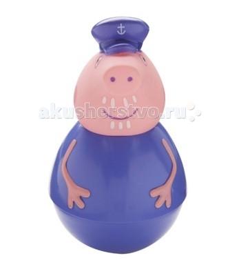 Купить Игровые фигурки, Свинка Пеппа (Peppa Pig) Фигурка-неваляшка Дедушка Свин