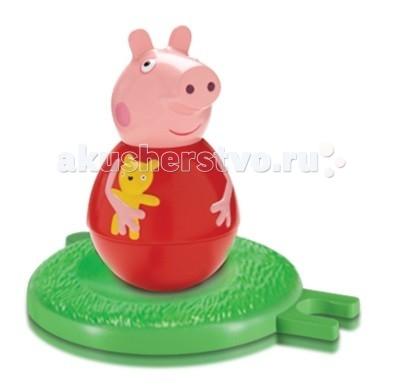Игровые фигурки Свинка Пеппа (Peppa Pig) Фигурка-неваляшка цветная бумага 1 сторонняя 16 листов 8 цветовpeppa pig свинка пеппа