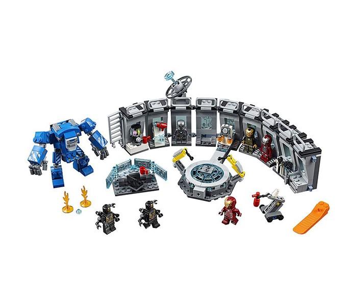 Конструктор Lego Super Heroes 76125 Лего Супер Герои Лаборатория Железного человека  - купить со скидкой
