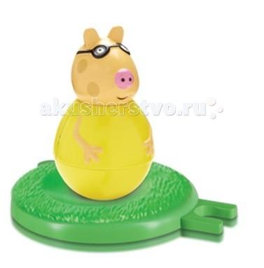 цена Игровые фигурки Свинка Пеппа (Peppa Pig) Фигурка-неваляшка Пони Педро