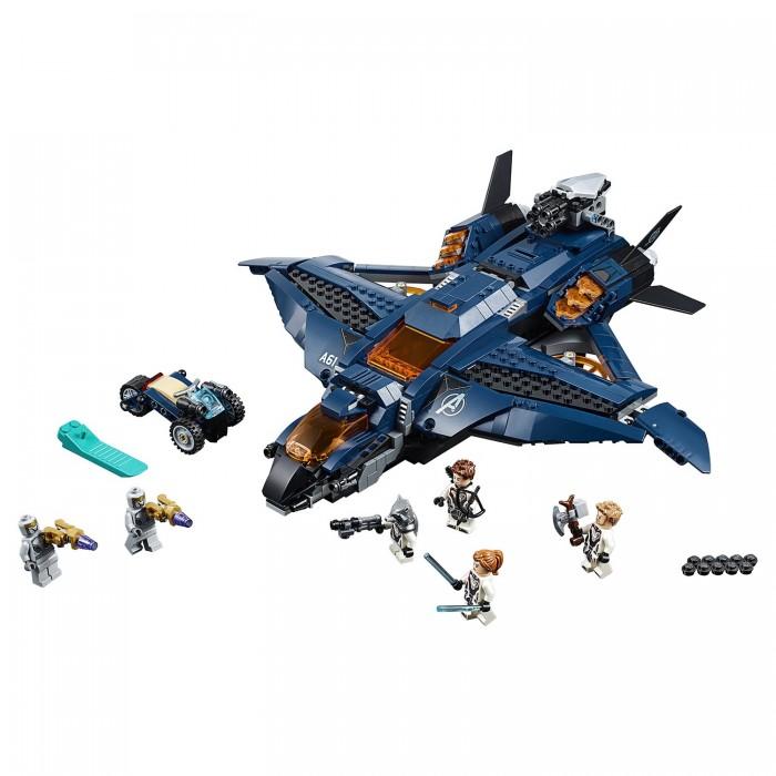 Купить Конструктор Lego Super Heroes 76126 Лего Супер Герои Модернизированный квинджет Мстителей