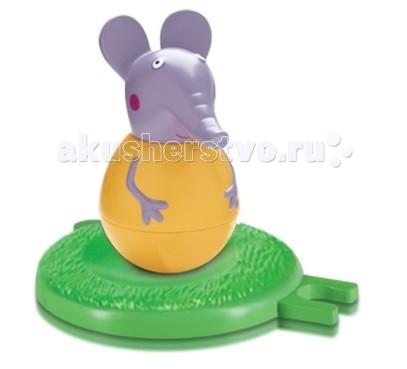 Игровые фигурки Свинка Пеппа (Peppa Pig) Фигурка-неваляшка Слоник Эмили набор игровой peppa pig 10 см