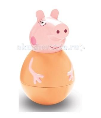 цена Игровые фигурки Свинка Пеппа (Peppa Pig) Фигурка-неваляшка Мама Свинка