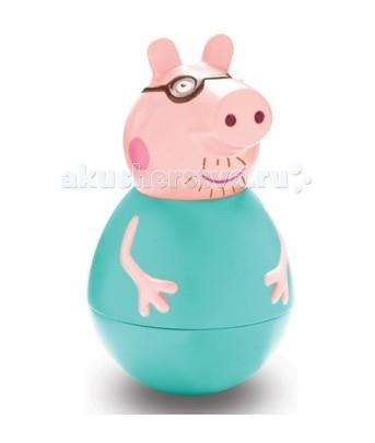 Купить Игровые фигурки, Свинка Пеппа (Peppa Pig) Фигурка-неваляшка Папа Свин