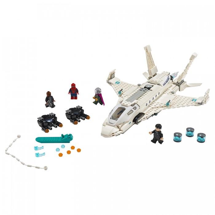 Конструктор Lego Super Heroes 76130 Лего Супер Герои Реактивный самолёт Старка и атака дрона