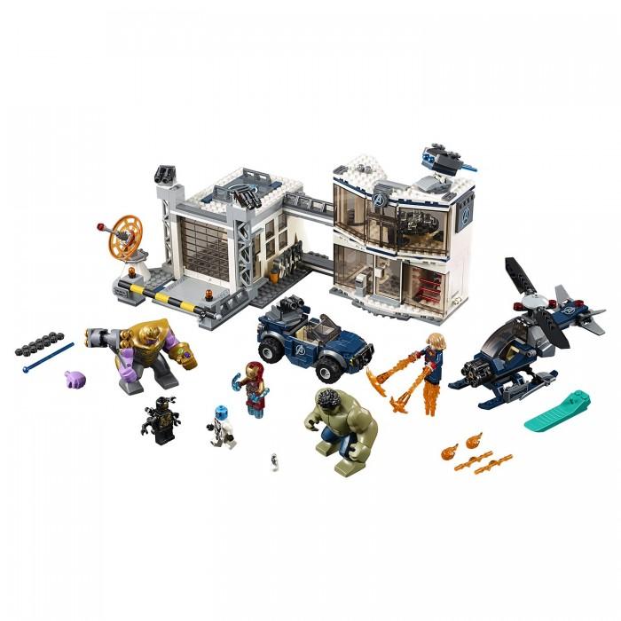 Купить Конструктор Lego Super Heroes 76131 Лего Супер Герои итва на базе Мстителей