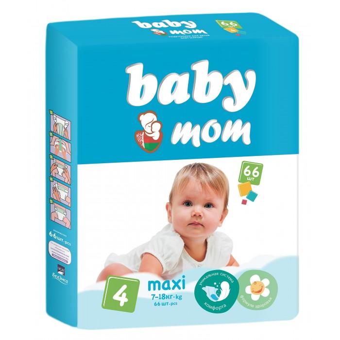 Подгузники Baby Mom Maxi (7-18 кг) 66 шт.