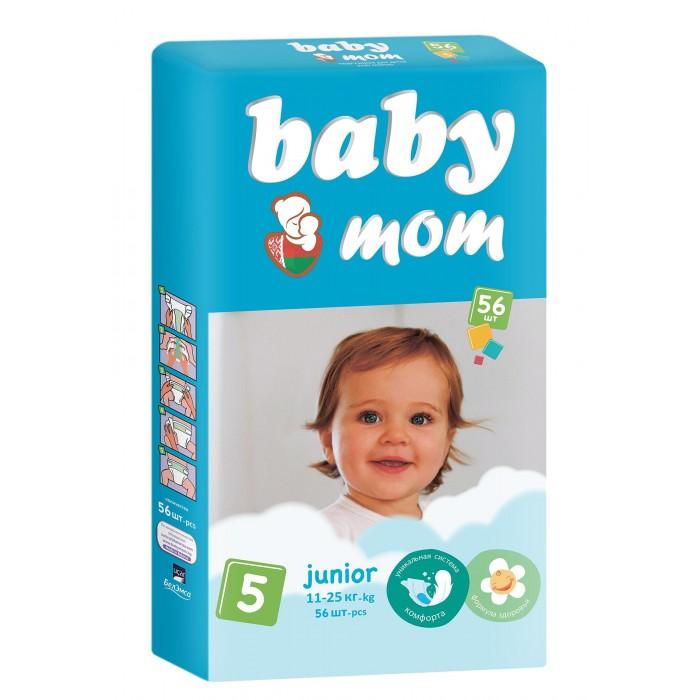 Купить Baby Mom Подгузники Junior (11-25 кг) 56 шт. в интернет магазине. Цены, фото, описания, характеристики, отзывы, обзоры