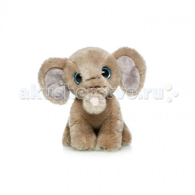 Мягкие игрушки MaxiLife Слоненок 18 см мягкие игрушки maxilife йоркширский терьер 23 см