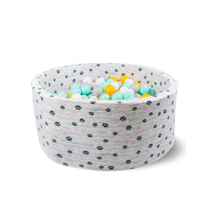 Hotenok Сухой Бассейн Цветомузыка у березы 40 см с комплектом шаров 200 шт.