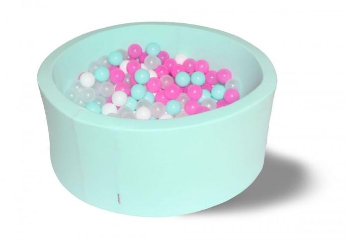 Hotenok Сухой Бассейн Клубничное мороженное 33 см с комплектом шаров 200 шт.