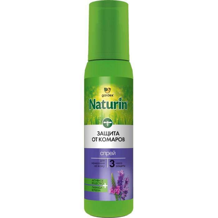 средства от насекомых Средства от насекомых Gardex Naturin Спрей от комаров 100 мл