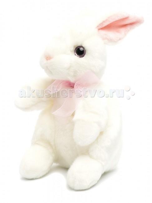 цены Мягкие игрушки MaxiLife Зайчонок (стоячий) 24 см