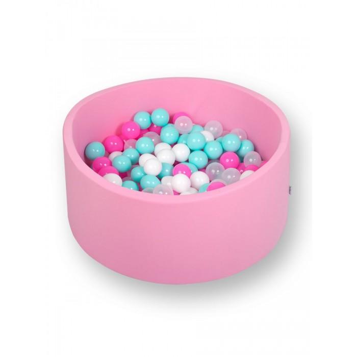 Hotenok Сухой Бассейн Розовая мечта 33 см с комплектом шаров 200 шт.