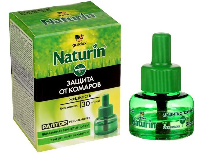 Средства от насекомых Gardex Naturin Жидкость от комаров без запаха 30 ночей жидкость от комаров argus без запаха 30 мл