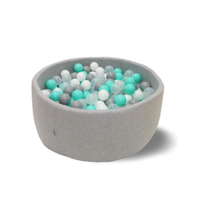 Купить Сухие бассейны, Hotenok Сухой Бассейн Волна 33 см с комплектом шаров 200 шт.