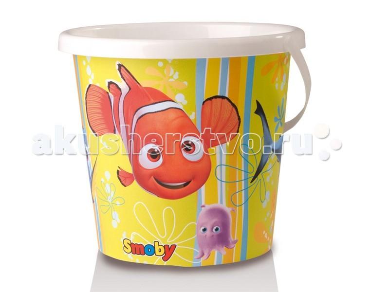 Игрушки для зимы Smoby Ведерко Nemo smoby детская горка king size цвет красный