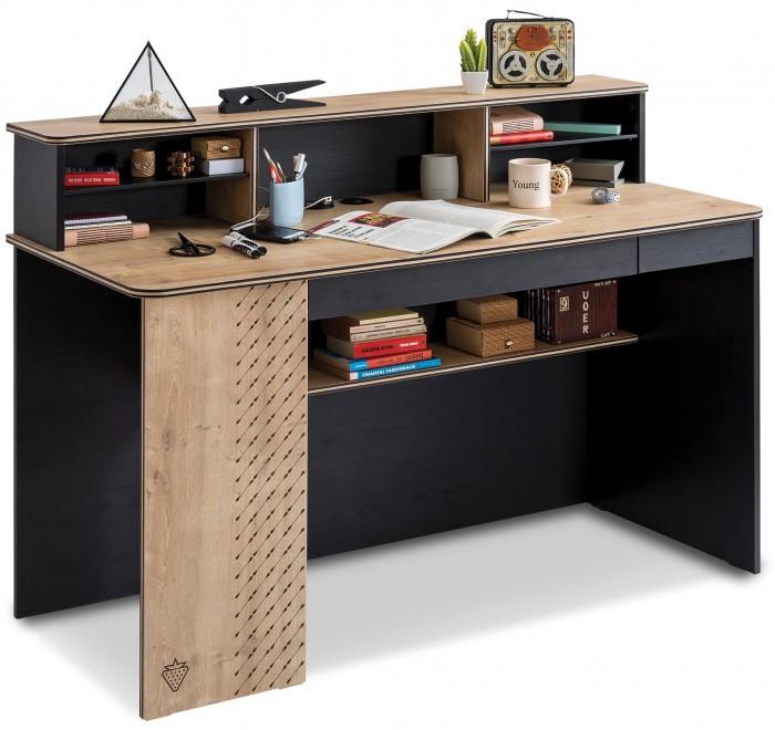 Купить Детские столы и стулья, Cilek Письменный стол Black широкий (без надстройки)