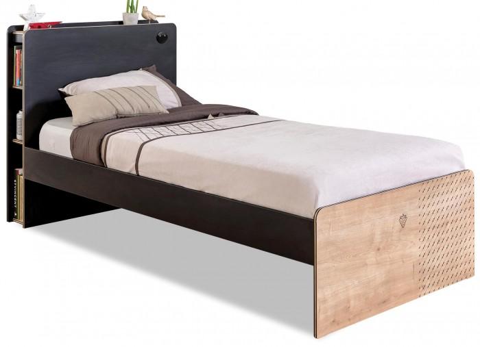 Купить Кровати для подростков, Подростковая кровать Cilek Black 200х100 см