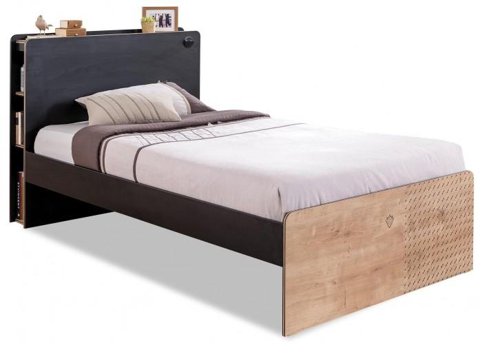 Подростковая кровать Cilek Black 200х120 см
