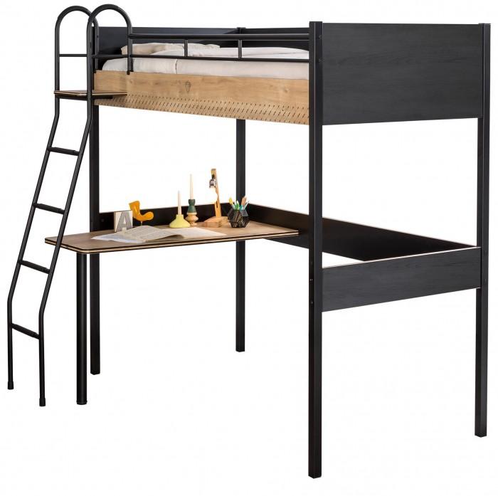 Подростковая кровать Cilek чердак Compact Black