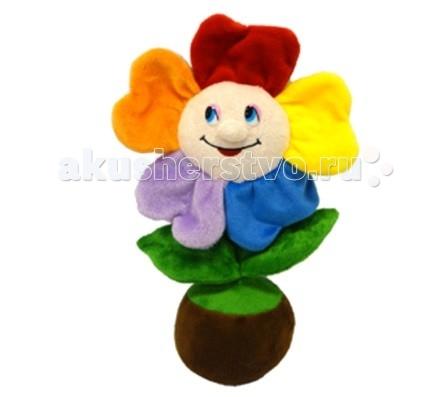 Мягкие игрушки Maxi Play Веселый цветочек в горшочке музыкальный 25 см maxi play мишка топтыжка музыкальный 21 см